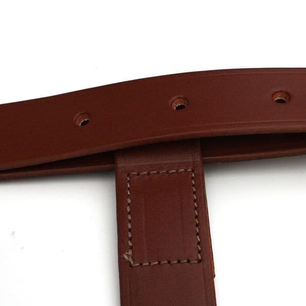 Morgan Leather Luggage H-Strap